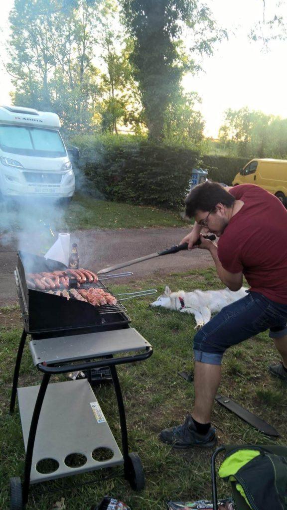 Le BBQ à la machete